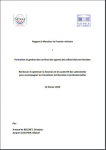 Formation et gestion des carrières des agents des collectivités territoriales - Renforcer et optimiser la fonction et les outils RH des collectivités pour accompagner les transitions territoriales et professionnelles