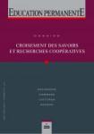 Education permanente, n°225 - décembre 2020 - Croisement des savoirs et recherches coopératives
