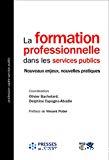 La formation professionnelle dans les services publics