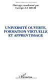 Université ouverte, formation virtuelle et apprentissage