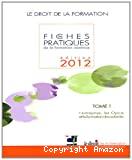 Fiches pratiques de la formation continue 2012