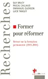 Former pour réformer