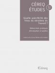 Céreq études, n°32 - juin 2020 - Quelle spécificité des titres du ministère du Travail ? Référentiels, pratiques d'évaluation et publics