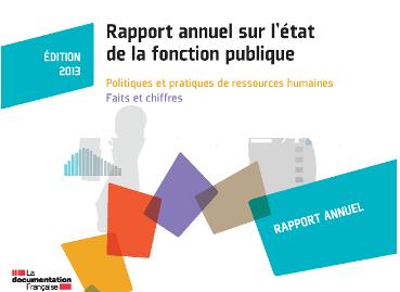 Rapport annuel sur l'état de la fonction publique 2012-2013