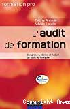 L'audit de formation: comprendre, réaliser et évaluer un audit de formation