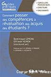 Comment passer des compétences à l'évaluation des acquis des étudiants ? Guide méthodologique pour une approche programme dans l'enseignement supérieur