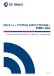 Pour un « système apprentissage » dynamique