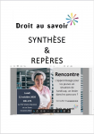 """Synthèse et repères de la Rencontre """"L'apprentissage pour les jeunes en situation de handicap, un levier dans les parcours?"""" du lundi 12 octobre 2020 à Paris"""