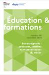 Les enseignants : panorama, carrières et représentations du métier