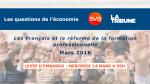 Les Français et la réforme de la formation professionnelle