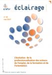 L'évolution de la professionnalisation des acteurs de l'emploi, de la formation et de l'orientation