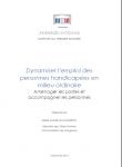 Dynamiser l'emploi des personnes handicapées en milieu ordinaire