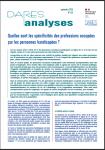 DARES analyses, n°31 - septembre 2020 - Quelles sont les spécificités des professions occupées par les personnes handicapées ?