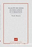 Egalité des sexes en éducation et formation