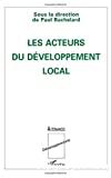 Acteurs du développement local (Les)
