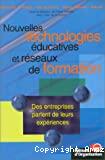 Nouvelles technologies éducatives et réseaux de formation