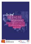 Le PACTE normand d'investissement dans les compétences 2019-2022