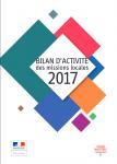 Bilan d'activité des missions locales 2017