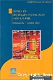 L'emploi et les relations sociales dans les PME