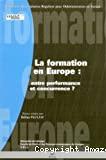 La formation en Europe