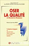 Oser la qualité en ressources humaines