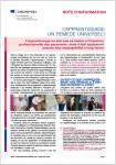 Note d'information - CEDEFOP, n° 2021 03 - mars 2021 - L'apprentissage : un remède universel ?