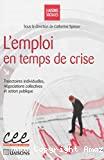 L'emploi en temps de crise