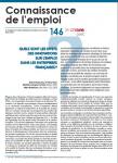 Quels sont les effets des innovations sur l'emploi dans les entreprises françaises ?