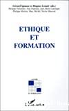 Ethique et formation