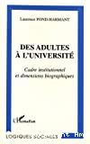 Adultes à l'université (Des)