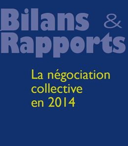La négociation collective en 2014