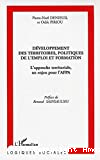 Développement des territoires, politiques de l'emploi et formation