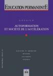 Autoformation et société de l'accélération