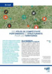 Des pôles de compétitivité performants et structurants pour les territoires
