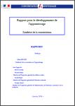 Rapport pour le développement de l'apprentissage