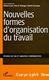 Nouvelles formes d'organisation du travail