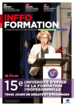 15è Université d'hiver de la formation professionnelle. Apprentissage : David Margueritte optimiste sur l'issue de la réforme