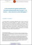 La fin annoncée de la gestion paritaire de la formation professionnelle dans le projet d' « En marche » : choix rationnel ou choix idéologique ?