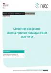 L'insertion des jeunes dans la fonction publique d'État 1991-2015