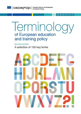 Terminology of European education and training policy : a selection of 130 key terms