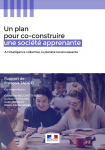 Un plan pour co-construire une société apprenante : à l'intelligence collective, la planète reconnaissante