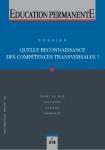 Quelle reconnaissance des compétences transversales ?: dossier