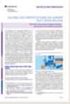Note d'information - CEDEFOP, n° 2019 05 - mai 2019 - Cadres des certifications en Europe: tirer parti des acquis d'apprentissage, promouvoir la confiance mutuelle