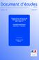 Enquêtes monographiques sur la mise en oeuvre du contrat de sécurisation professionnelle - CSP