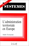 Administration territoriale en Europe (L')