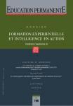 Formation expérientielle et intelligence en action (Construire l'expérience 3)