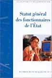 Statut général des fonctionnaires de l'Etat