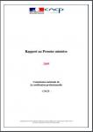 CNCP - Rapport au Premier ministre 2009
