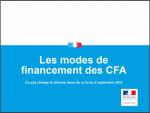 Le financement des CFA après la loi Travail [Synthèse Ministère du Travail]