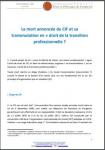 """La mort annoncée du CIF et sa transmutation en """"droit de la transition professionnelle ?"""""""
